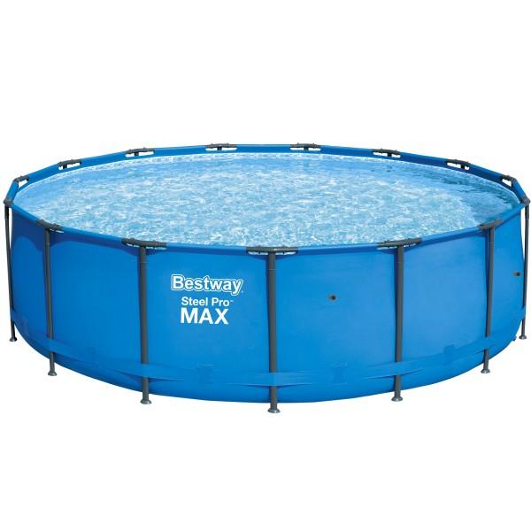 Bestway® Ersatzpool Steel Pro Max™ Framepool 457x122 cm, ohne Zubehör, rund, blau
