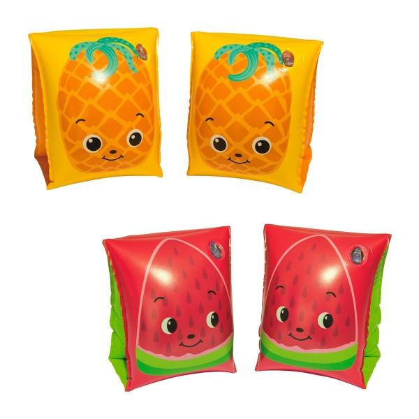 Bestway® Schwimmflügel für Kinder, Fruitastic, 3–6 Jahre, 23 x 15 cm, sortiert