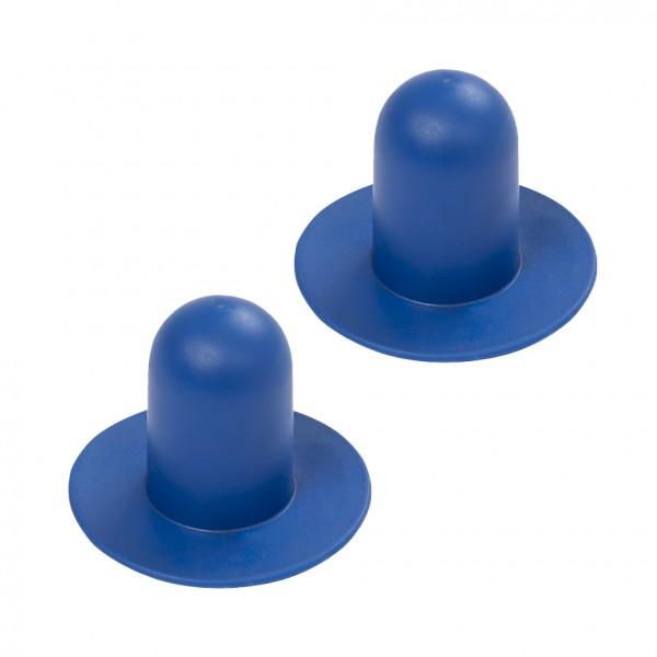 Bestway® Ersatzteil P6D1418 Verschlussstopfen / Pool-Stöpsel (blau) (2er Set)
