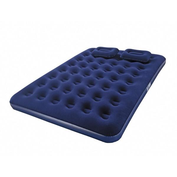 Pavillo™ Luftbett, Blue Horizon, 203 x 152 x 22 cm, Double, mit Handpumpe und 2 Kissen