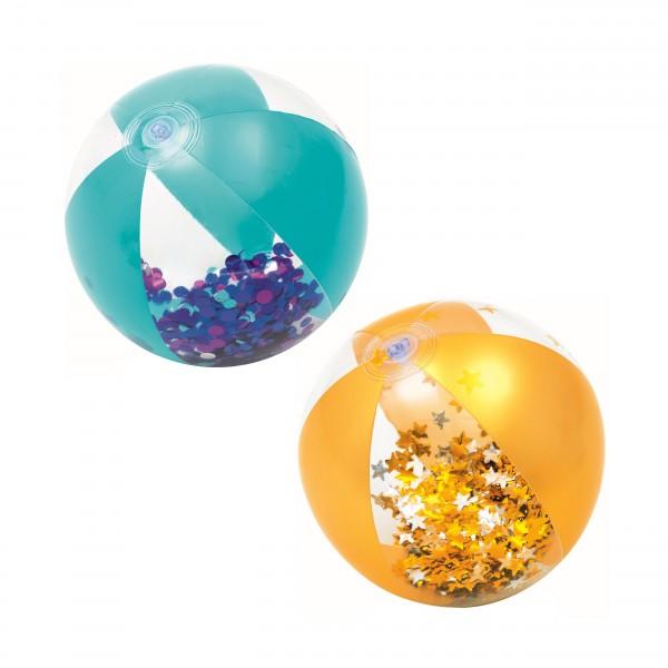 Bestway® Float'N Fashion Glitzer-Wasserball 41 cm