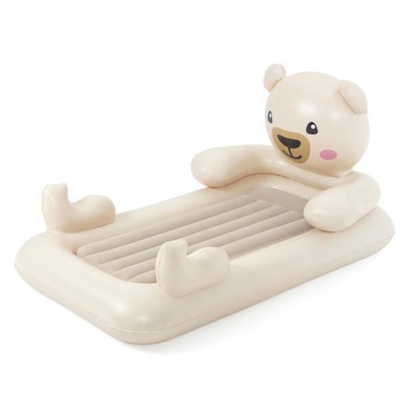 Bestway® Up, In & Over™ Luftbett für Kinder, Teddy, 188 x 109 x 89 cm