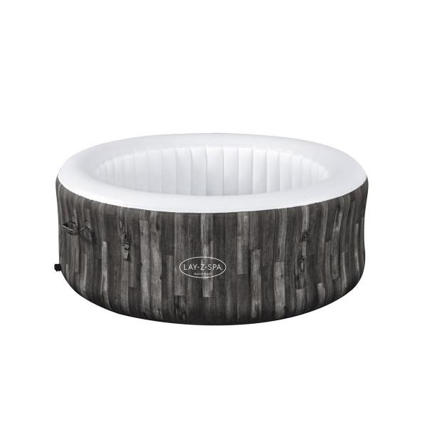 Bestway® Ersatzteil Poolfolie/Liner in Holz-Optik (Mooreiche) für LAY-Z-SPA® Bahamas AirJet™ 180 x 6