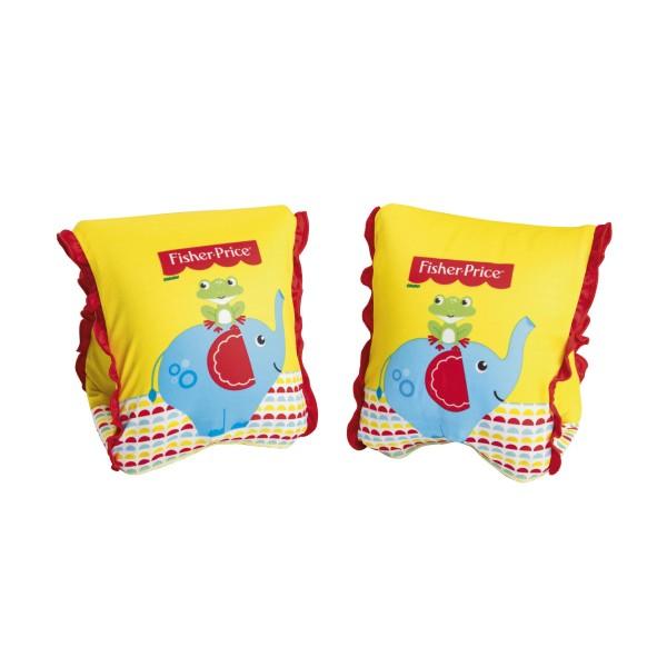 Fisher-Price® Premium Schwimmflügel für Kinder, mit Textilbezug, (S/M) 1-3 Jahre