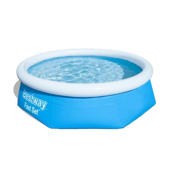 Fast Set™ Pool, 244 x 66 cm, ohne Pumpe, rund, blau