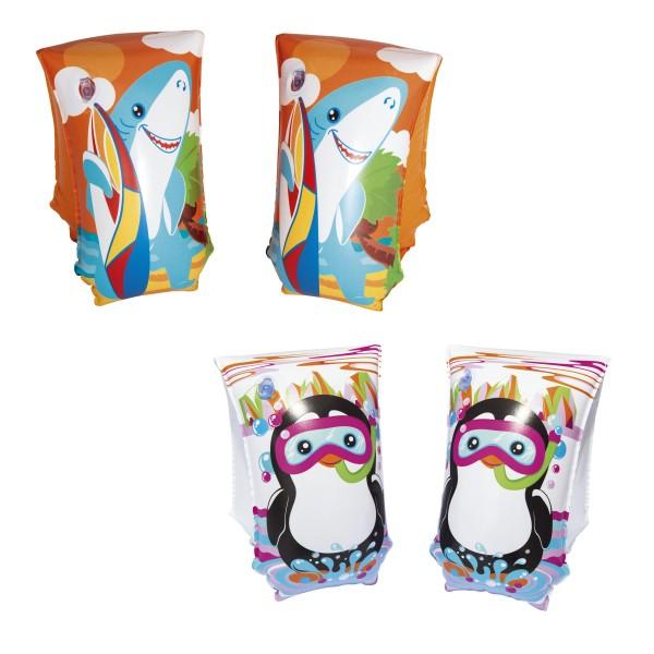 Bestway® Schwimmflügel für Kinder, AquaticLife, 5–12 Jahre, 30 x 15 cm, sortiert