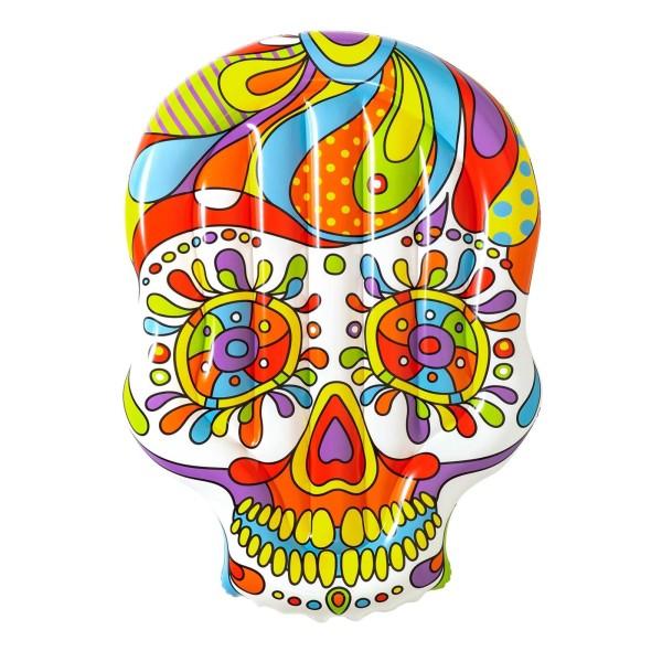 Bestway® Luftmatratze, Fiesta Skull, 193 x 141 cm
