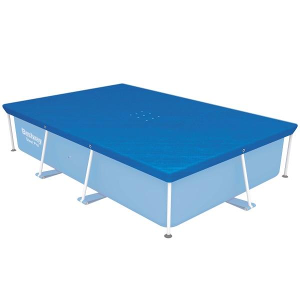 Flowclear™ PE-Abdeckplane 264 x 174 cm, für eckige 259 x 170 cm Steel Pro™ Pools, blau