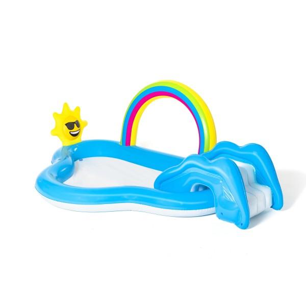 Bestway® Wasserspielcenter, Rainbow n Shine, 257 x 145 x 91 cm