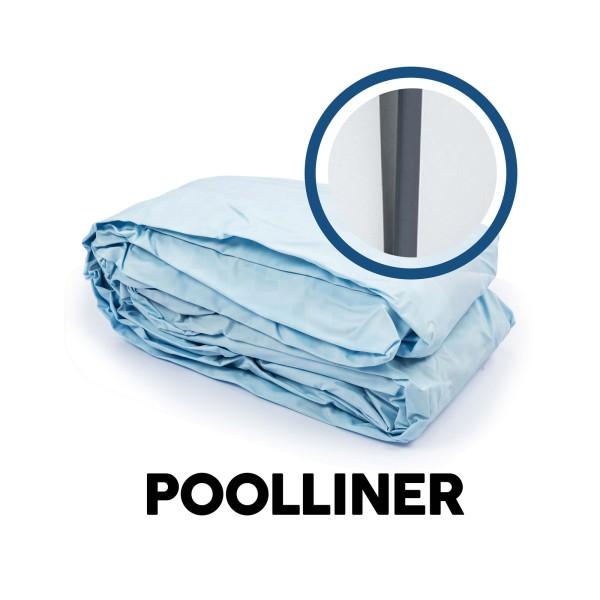 Bestway® Ersatzteil Poolfolie für Steel Pro MAX™ Pool 488 x 122 cm lichtgrau, rund